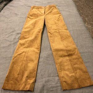 H&M wide leg corduroy pants